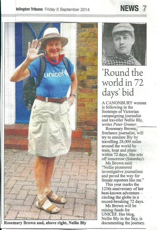 Islington Tribune 5 September 2014