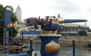 What a blast - the Noonday Gun
